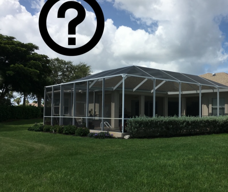 Four Questions From Homeowners Before Building A New Screen Enclosure